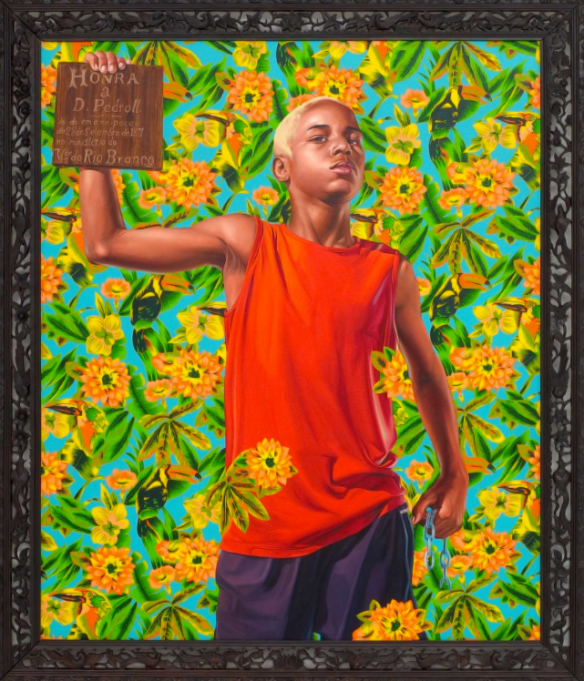 ALEGORIA A LEI DO VENTRE LIVRE Brazil Kehinde Wiley