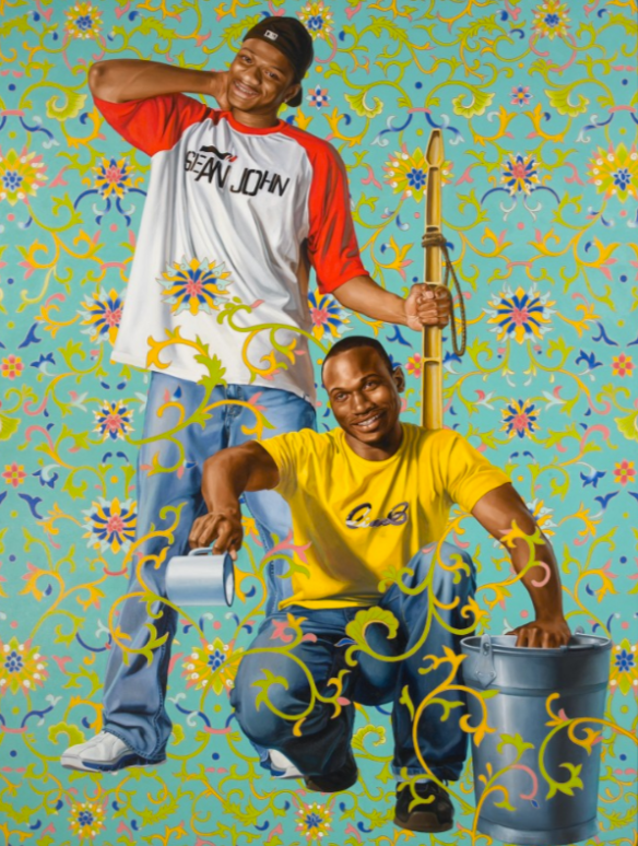 BAMBOO SHOOTS Kehinde Wiley