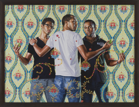 Three Graces Kehinde Wiley