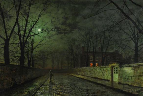 silver moonlight by john atkinson grimshaw