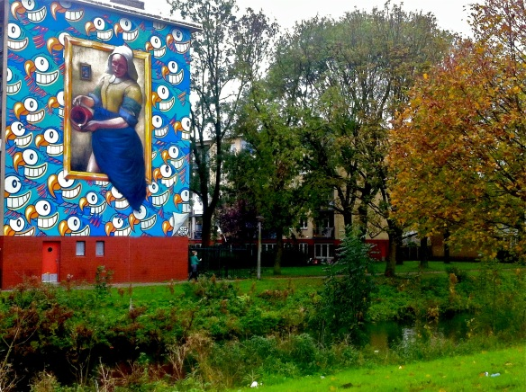 Johannes Vermeers The milkmaid Amsterdam - Danny Recall & Pez Pescao