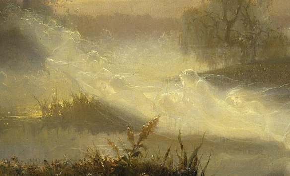 August Malmström - Dancing Fairies, 1866