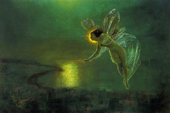 Spirit of the Night, 1879 ~ John Atkinson Grimshaw