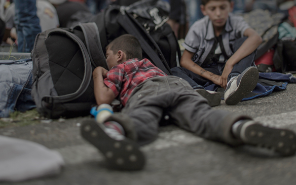 Ahmad, 7 years old - Where the children sleep