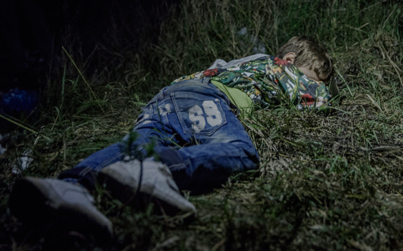 Ahmed, 6 years old - Where the children sleep