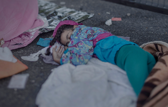 Shehd, 7 years old - Where the children sleep