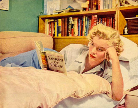 Marilyn Monroe, Walt Whitman - Leaves of Grass