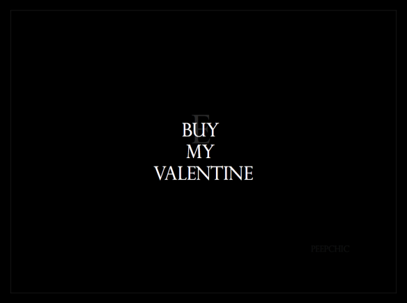 buy my valentine