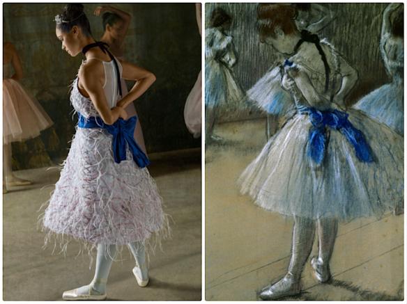 Degas's Dancer Ken Browar & Deborah Ory  @ harpersbazaar.com