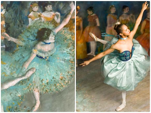 Degas's  swaying dancer Ken Browar & Deborah Ory    @ harpersbazaar.com