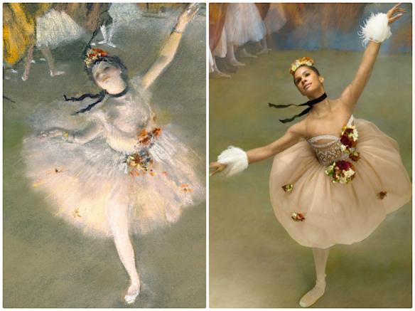 Degas's The Star Ken Browar & Deborah Ory     @ harpersbazaar.com