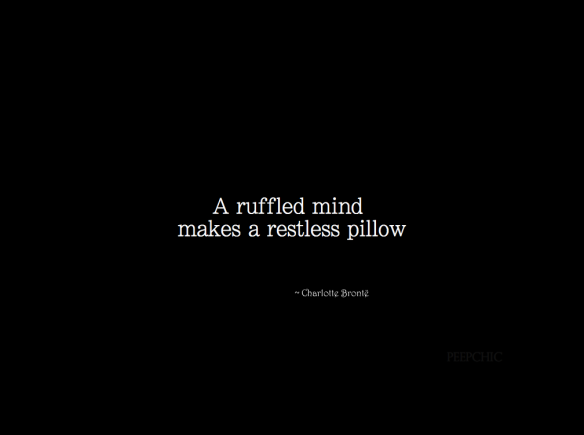 ― Charlotte Brontë