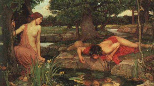 Echo & Narcissus John William Waterhouse 1903