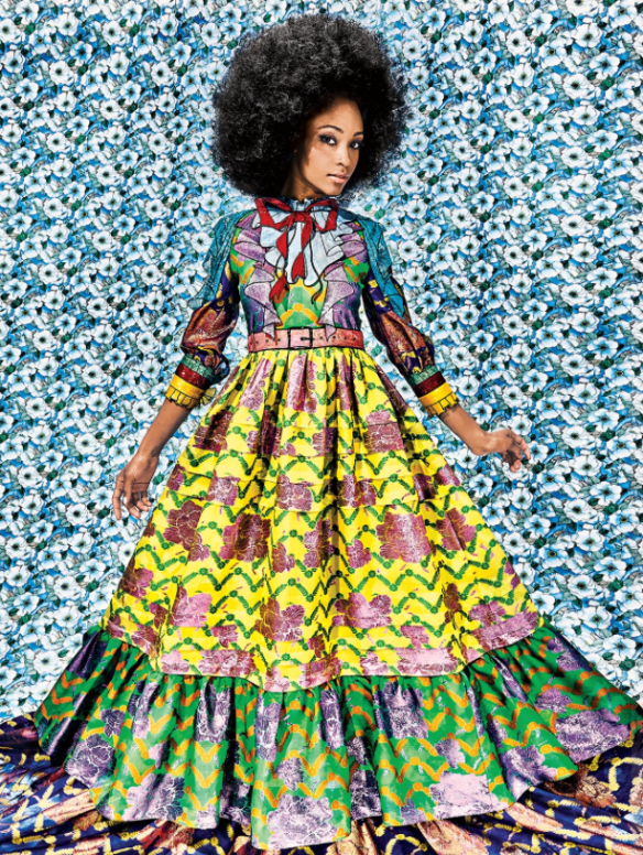 Maximalism Yaya DaCosta for New York Magazine  Bobby Doherty