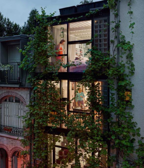 Villa Santos-Dumont, Paris 15e, 20 Mai 2013 Paris, Gail Albert Halaban