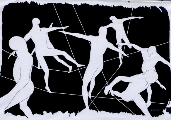 Balance of Freedom' by Ramiro Zardoya, Cuba @Bevrijdingsfestival Westerpark Amsterdam
