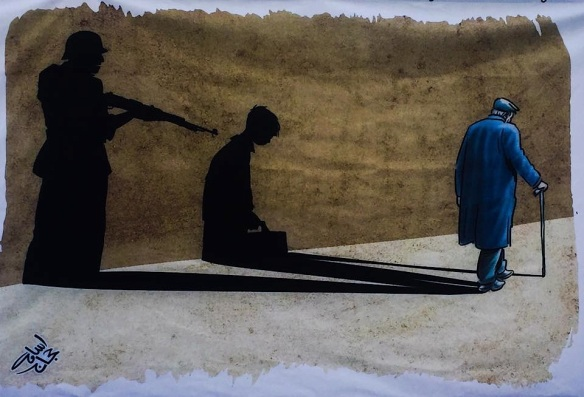 The war shadow Osama Hajjag, Jordan Bevrijdingsfestival Westerpark Amsterdam