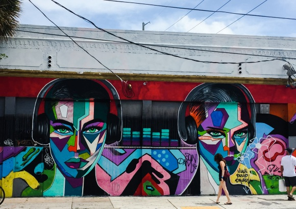 Wynwood Miami 2017 music x 2