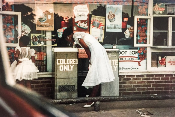 Gordon Parks segregation story Department Store, Mobile, Alabama, 1956